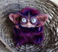 Sowl mini: Purple Imp one horn