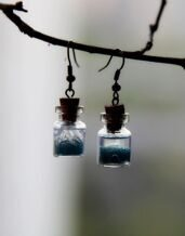 Water earrings